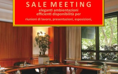 Organizza il tuo meeting aziendale con Hotel Capitol